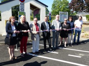 Inauguration rue St-Almand