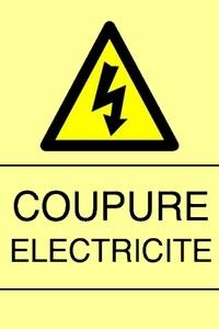 Coupure électrique !