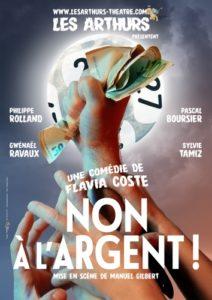 """REPORTÉ ! Théâtre """"Non à l'argent"""" - Compagnie Les Arthurs @ Espace Aimé Moron"""