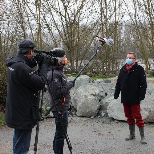 Reportage de France 3 aux Garennes-sur-Loire