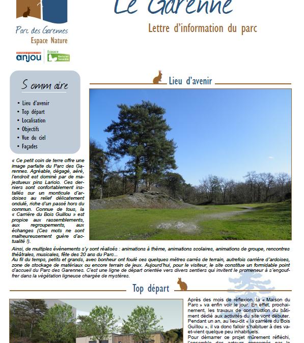 Le Garenne – Avril 2021
