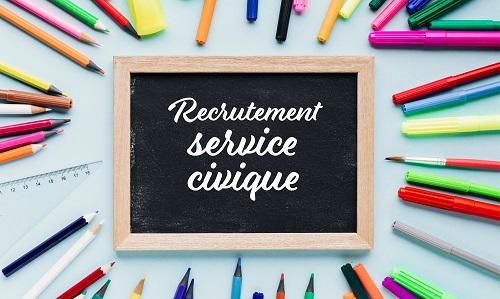 Recrutement d'un(e) service civique