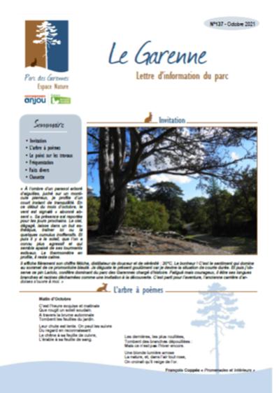 LE GARENNE N°137 – OCTOBRE 2021